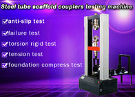 steel tube scaffold coupler testing machine Friendly Interface Electronic Test Equipment , Shear Testing Machine