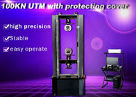 Machanical Uniaxial universal Testing Machine Of Steel Crosshead Limit Moving Space Protection