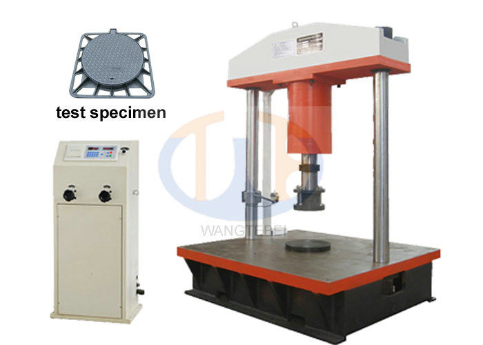 Computer Control manhole cover Compression Testing Machine 600KN / 1000KN / 1500KN