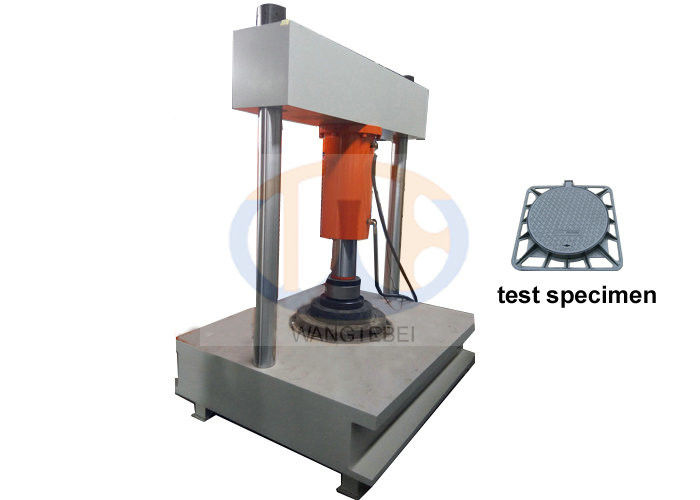 Pedestrian Areas Design Compression Testing Machine With Data Acquisition Circuit