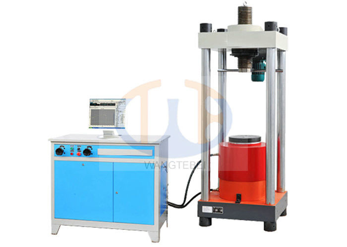 Imported Servo Valve Compression Testing Machine 3000KN 100 x 100 x 100mm