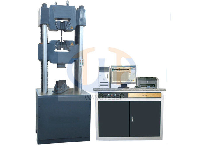 WAW - 1000KN Hydraulic Testing Machine , Computer Control Bend Test Machine