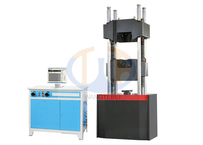 WAW - G600D / G1000D Hydraulic Tensile Testing Machine18mm Steel Strand