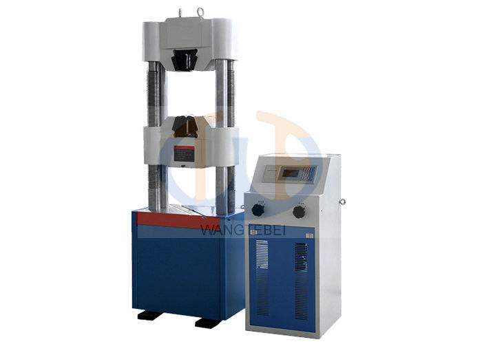 Space Adjusting Hydraulic Tensile Testing Machine Matched With Various Test Fixture