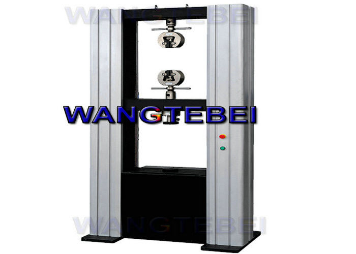 Reduction Area Wood Testing Machine , WTD Tensile Test Bench For Round Specimen