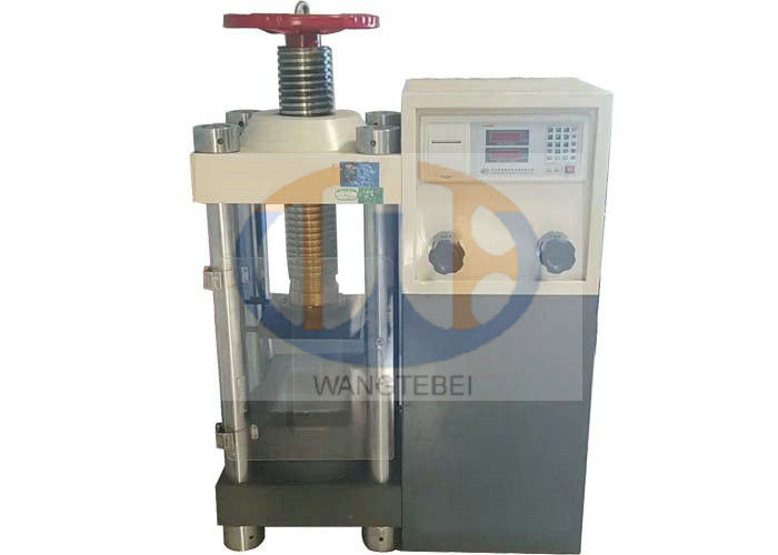 Digital Display Concrete Testing Machine Manual Control And Hydraulic Loading Mode