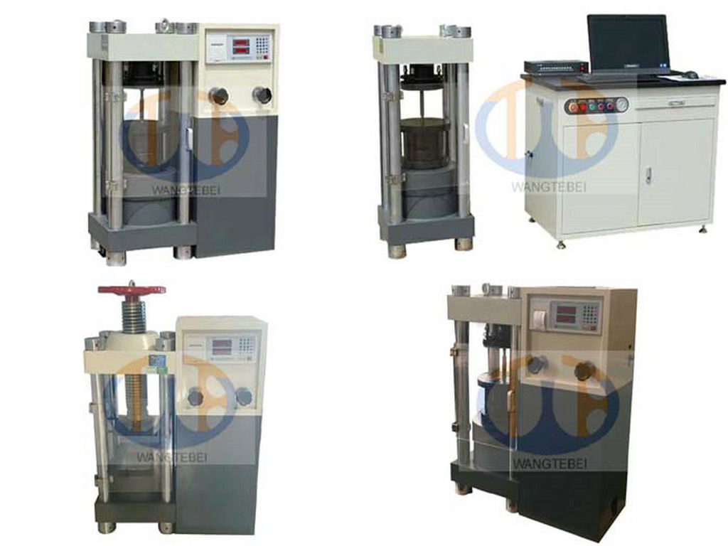 Bellows Screw Covers Compressive Strength Machine , Compressive Strength Testing Machine