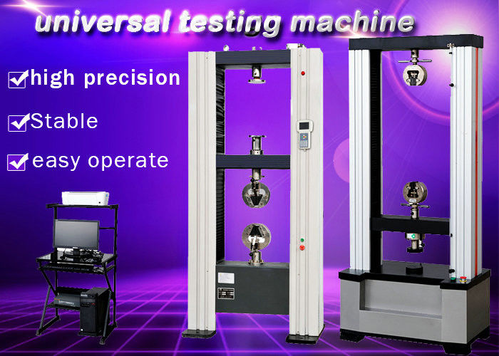 High Grade Tension Testing Machine Ultimate Tensile Auto Stop At Break