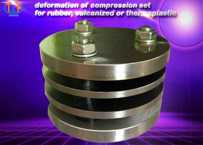 Deformation Of Compression Set Rubber Testing Instruments For Vulcanized Or Thermoplastic
