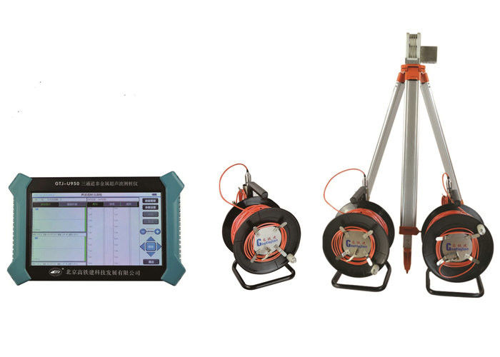Non - Metal Ultrasonic Detector Ndt Instruments With 3 Channels And 8GB Harddisk