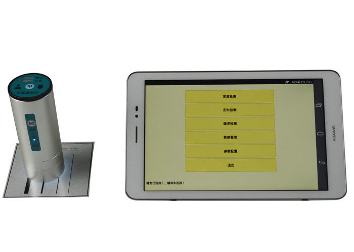 Durable Wireless Crack Width Gauge Non Destructive Testing Equipment Android System Tablet