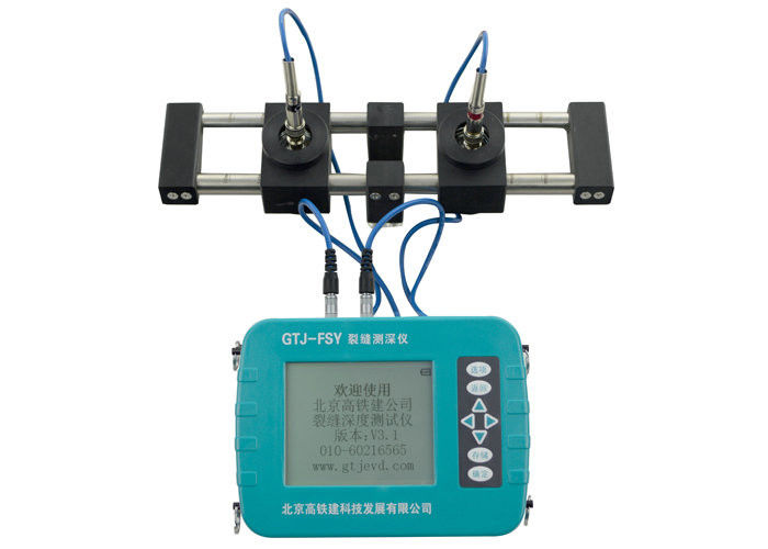 Concrete Crack Depth Tester Non Destructive Testing Equipment With Usb Data Transmission