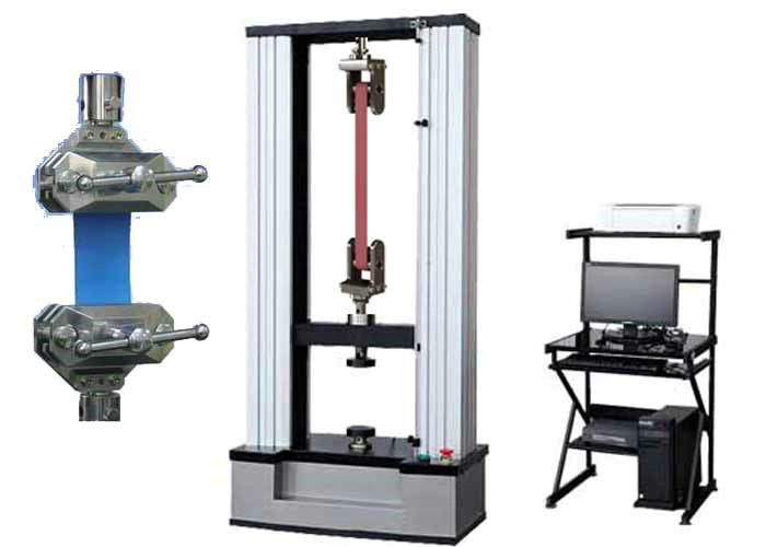 Double Columns Rubber Mateial Universal Tensile Testing Machine With Precise Load Cell