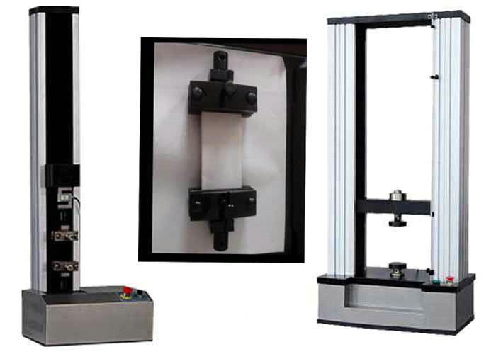 50KN Electronic Plastic Tensile Strength Testing Machine For ASTM ISO EN Standard