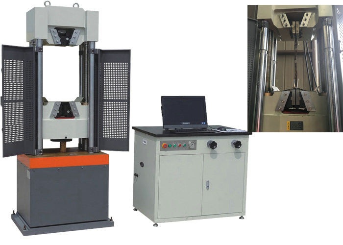 WEW -600 Hydraulic Pressure Tensile Strength Testing Machine 600KN Computer Display
