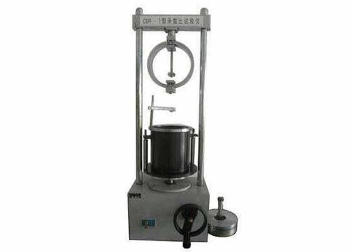 Small Volume Civil Engineering Testing Equipment CBR Load - Bearing Ratio Tester